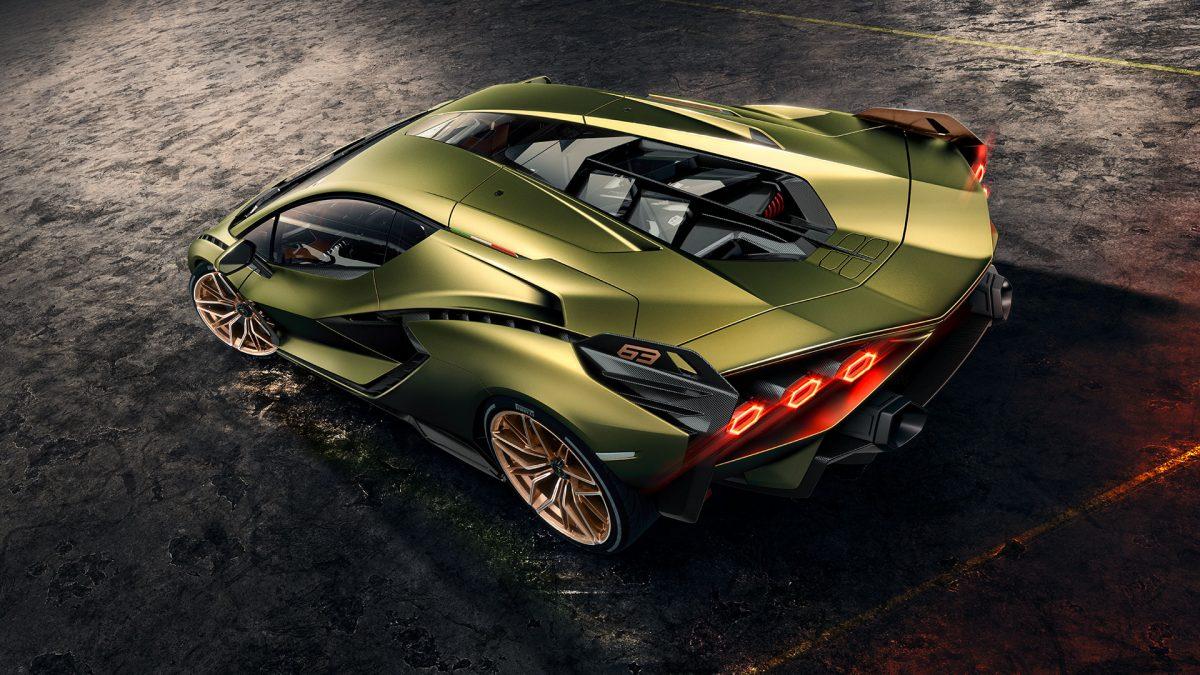 Lamborghini Sian con Supercapacitores