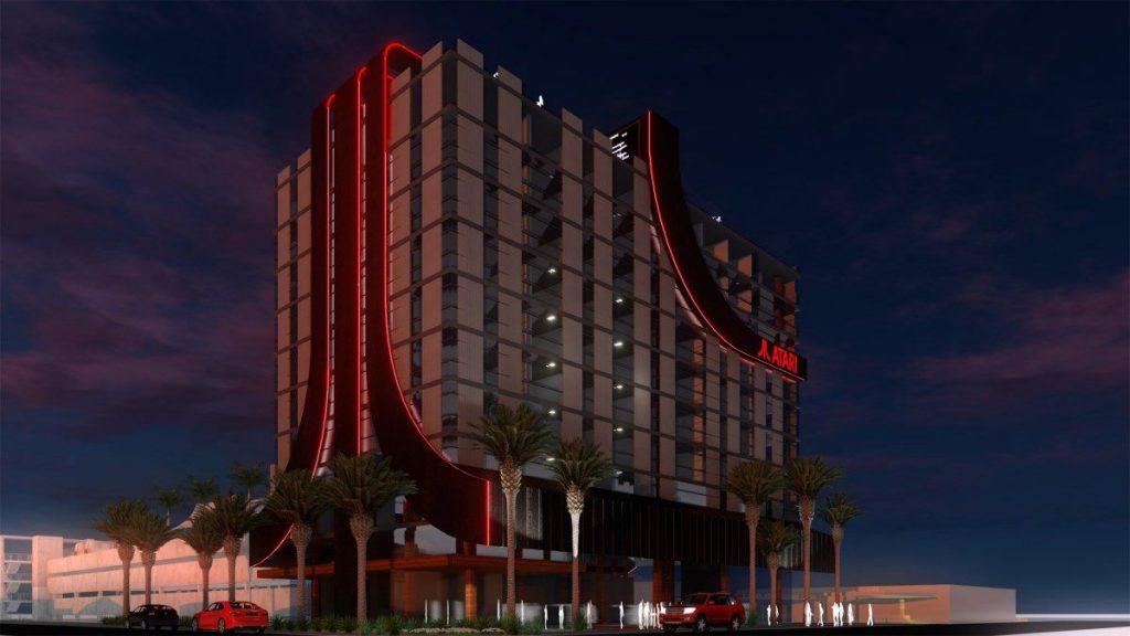 Render de Edificio Hotel Atari