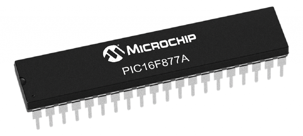 PIC16F788A de Microchip tipo DIP