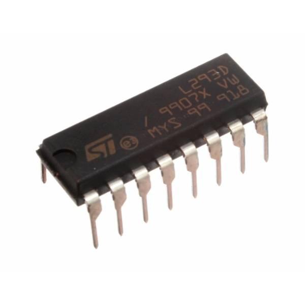 Circuito integrado L293D Puente H con amplificadores operacionales