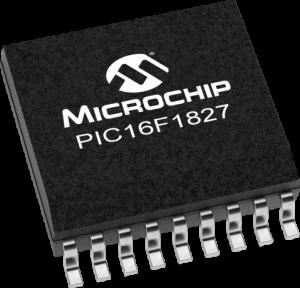 PIC16F1827 de Microchip tipo SMD