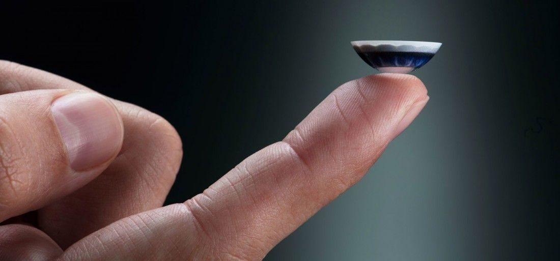 El futuro de los mediosaudiovisuales con el uso de lentes de contacto.