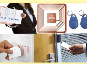 Acceso de seguridad utilizando RFID