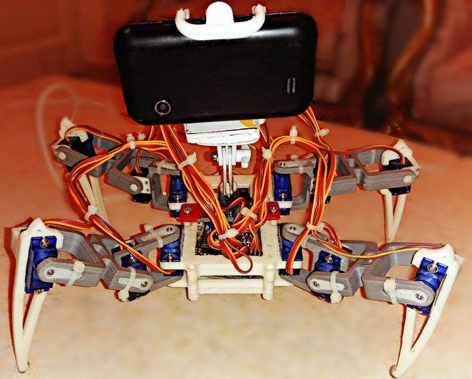 Araña Robótica con Camara