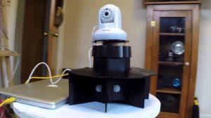 Camara seguidora Monotorizada con Arduino e impresion 3D
