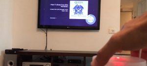 Control de volumen remoto para TV (2)