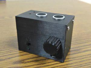 Detector portátil de distancia