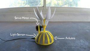 Girasol proyecto de arduino e impresion 3D
