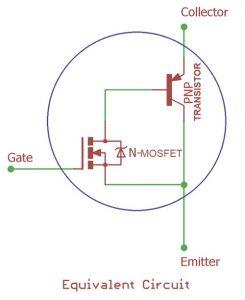 Circuito de IGBT
