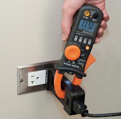 Multimetro de Gancho y equipo medición electrónica basica1