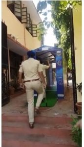 Sistema de sanitización automático.