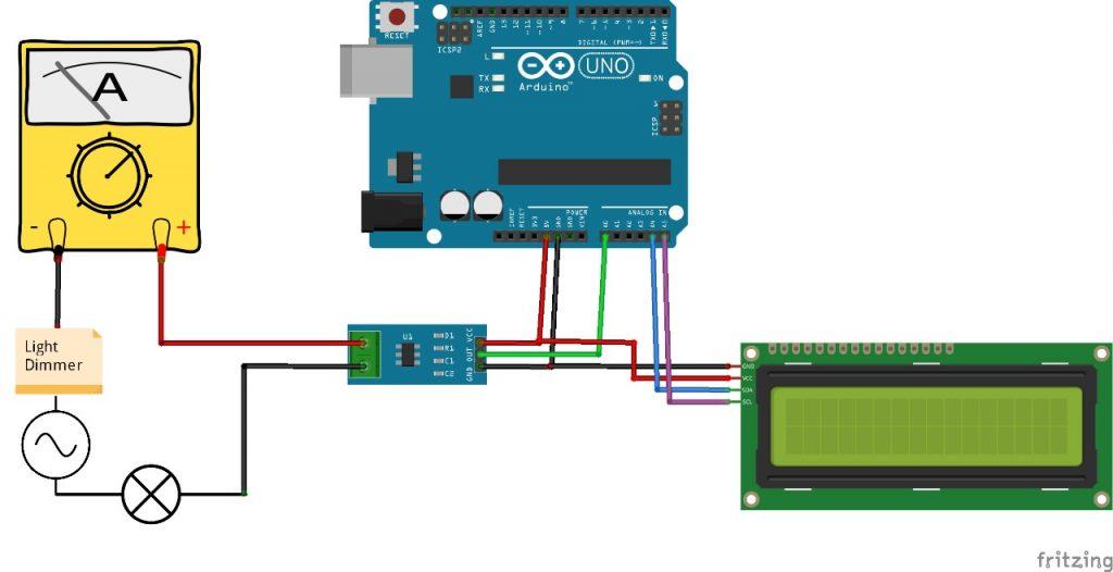 Diagrama de conexión sensor