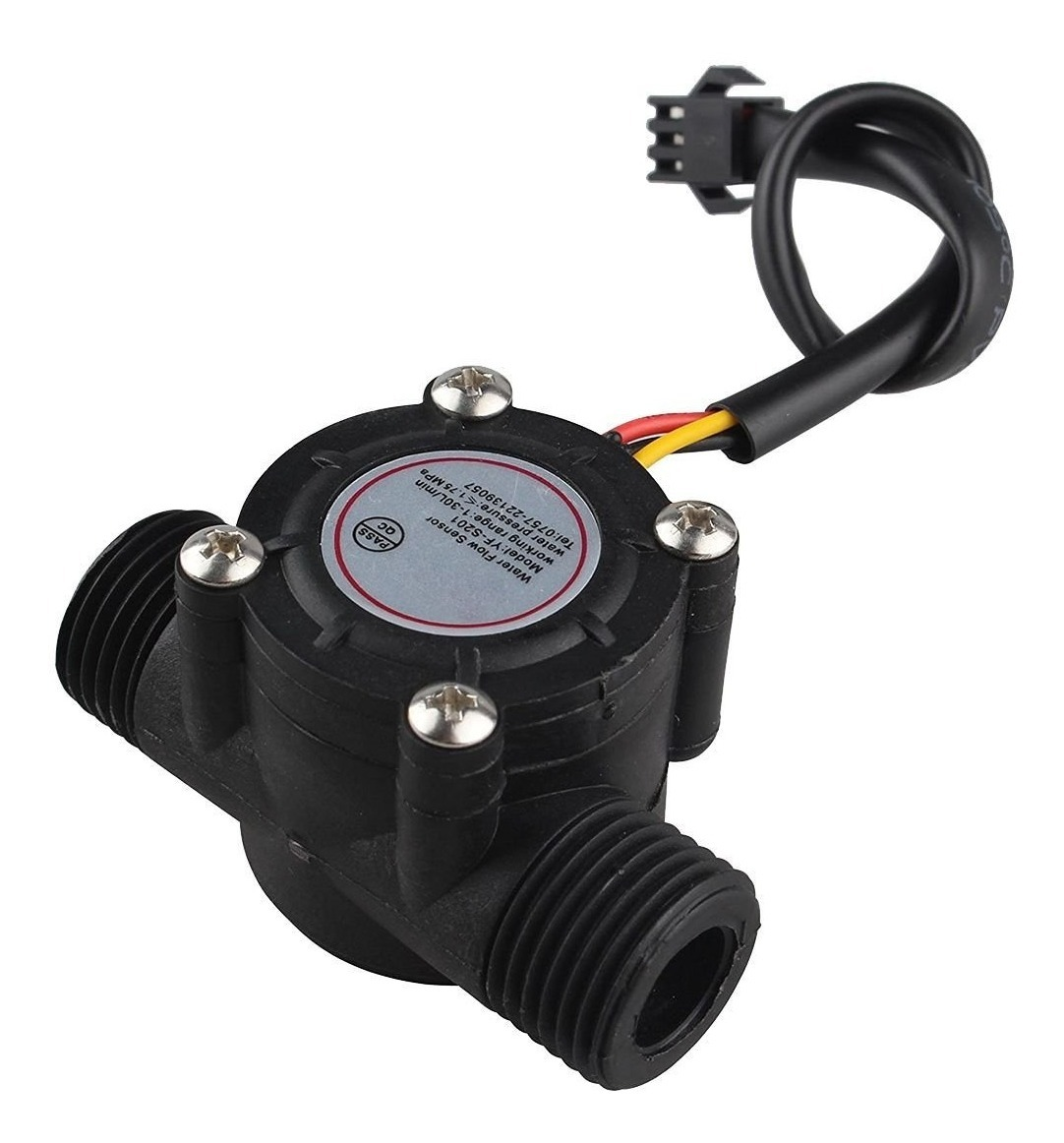 caudalimetro con Arduino