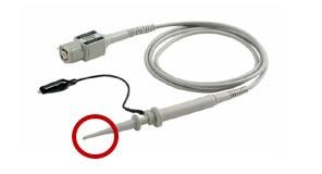 medición de señales de mayor ancho de banda osciloscopio (2)
