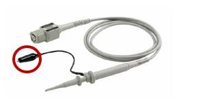 medición de señales de mayor ancho de banda osciloscopio