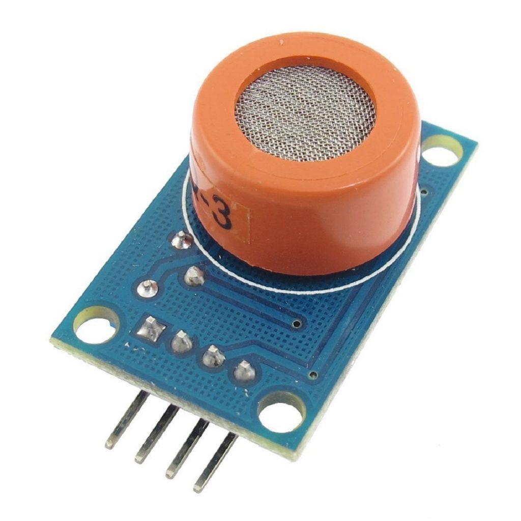 Sensor de alcoholímetro